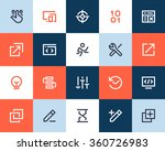 programming and developer icons.... | Shutterstock .eps vector #360726983