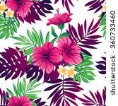 tropical trendy seamless... | Shutterstock .eps vector #360733460