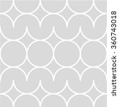 gray and white geometric pattern | Shutterstock .eps vector #360743018