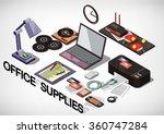 illustration of info graphic... | Shutterstock .eps vector #360747284