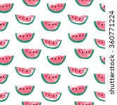 seamless stylish pattern with... | Shutterstock .eps vector #360771224
