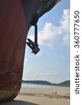 Small photo of ran aground oil tanker in Thailand