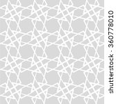 geometric seamless pattern with ... | Shutterstock .eps vector #360778010