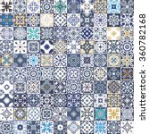 gorgeous floral patchwork... | Shutterstock .eps vector #360782168