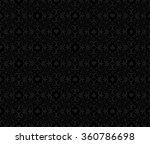 black seamless poker background ... | Shutterstock .eps vector #360786698