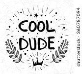 vector design. retro doodle... | Shutterstock .eps vector #360787094