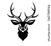 deer head. vector | Shutterstock .eps vector #360788966
