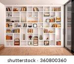 3d illustration of white... | Shutterstock . vector #360800360