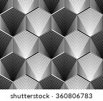 design seamless monochrome... | Shutterstock .eps vector #360806783