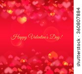 happy valentine's day  romantic ... | Shutterstock .eps vector #360807884