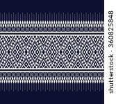 geometric ethnic pattern design ... | Shutterstock .eps vector #360825848