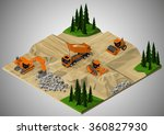 Vector Isometric Illustration...