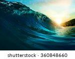 ocean view seascape landscape... | Shutterstock . vector #360848660