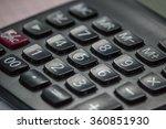 calculator | Shutterstock . vector #360851930