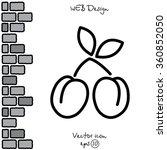 web line icon. plum | Shutterstock .eps vector #360852050