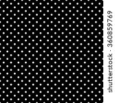 polka dot black and white... | Shutterstock .eps vector #360859769