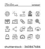 internet  global network  cloud ... | Shutterstock .eps vector #360867686