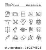 graphic design  creative... | Shutterstock .eps vector #360874526