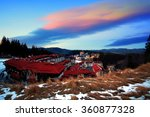 colorful hdr sunset over the...   Shutterstock . vector #360877328