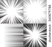 comic book speed horizontal... | Shutterstock . vector #360879788