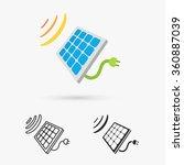 Solar Cell Panel. Energy