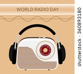 vector illustration of a radio... | Shutterstock .eps vector #360893180