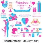 valentine's day infographic.... | Shutterstock .eps vector #360894584