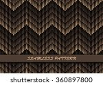 seamless geometric pattern of... | Shutterstock .eps vector #360897800
