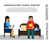 flat illustration consultation...   Shutterstock .eps vector #360909278
