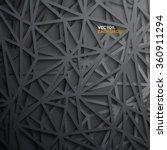 modern abstract polygon vector... | Shutterstock .eps vector #360911294