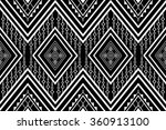 geometric ethnic pattern design ... | Shutterstock .eps vector #360913100