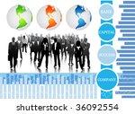 business concept   Shutterstock .eps vector #36092554