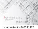 architecture background. | Shutterstock .eps vector #360941423