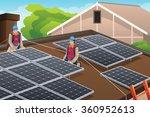a vector illustration of... | Shutterstock .eps vector #360952613