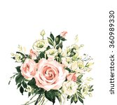 beautiful floral background... | Shutterstock . vector #360989330