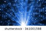 led and laser lights | Shutterstock . vector #361001588