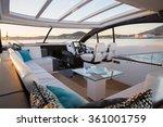 Interior Of Luxury Motoryacht...