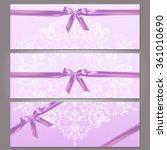 vector illustration of a pink... | Shutterstock .eps vector #361010690