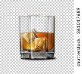 transparent realistic vector... | Shutterstock .eps vector #361017689