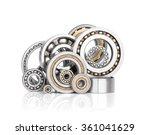 set of steel ball bearings    Shutterstock . vector #361041629