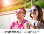 having weekend in summer park | Shutterstock . vector #361048274