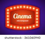 vector realistic 3d light... | Shutterstock .eps vector #361060940