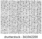 Vector Egyptian Hieroglyphs On...
