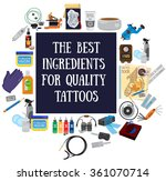 the best ingredients for... | Shutterstock .eps vector #361070714