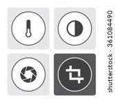 universal vector icons   Shutterstock .eps vector #361084490