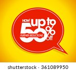 now up to 50 percents off ... | Shutterstock .eps vector #361089950