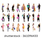 buying things isolated concept  | Shutterstock . vector #361096433