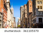 new york  usa   sep 25  2015 ... | Shutterstock . vector #361105370