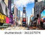 new york  usa   oct 7  2015 ... | Shutterstock . vector #361107074