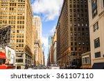 new york  usa   sep 25  2015 ... | Shutterstock . vector #361107110